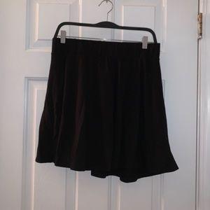 Charlotte Russe skater skirt size XL